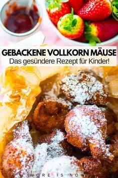 Rezept Gebackene Mäuse Vollkorn Healthy Life, French Toast, Vitamins, Cereal, Breakfast, Food, Savory Snacks, Easy Cooking, Healthy Living