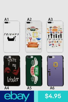Cases, Covers & Skins Cell Phones & Accessories #ebay Bff Iphone Cases, Diy Phone Case, Cute Phone Cases, Samsung Cases, Iphone 7, Friends Merchandise, Friends Memorabilia, Friends Tv Show, Friends In Love