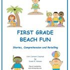 This resource contains five stories and five comprehension sheets about activities children enjoy at the beach.  Also included is a memory word gam...