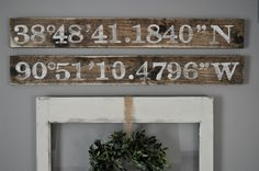 "<p style=""text-align: center;""><strong><a href=""http://www.littleglassjar.com/2015/04/23/city-gps-coordinates-sign/"" target=""_blank"">Little Glass Jar Longitude & Latitude Sign</a></strong></p>"
