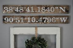"<p style=""text-align: center;""><strong><a href=""http://www.littleglassjar.com/2015/04/23/city-gps-coordinates-sign/"" target=""_blank"">Little Glass Jar Longitude & Latitude Sign</a> </strong></p>"