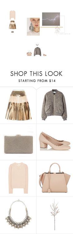 """what's a girl to do - fatima yamaha"" by aimable ❤ liked on Polyvore featuring Proenza Schouler, Acne Studios, Chloé, Fendi, Valentino and Crate and Barrel"