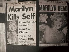 A TRAGIC ENDING photo | Marilyn Monroe