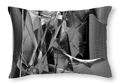 Throw Pillow - Abstract 9639