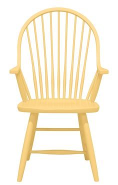 Windsor Arm Chair by Maine Cottage | Where Color Lives