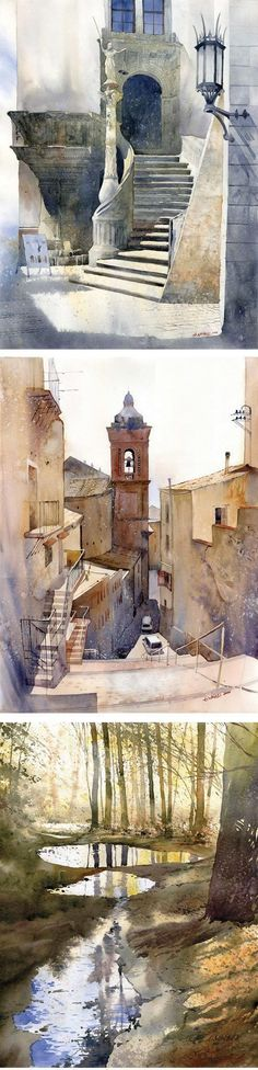 classic watercolor paintings   blog about drawing, painting, illustration, comics, concept art ...: #watercolorarts #OilPaintingClassic