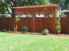 "Explore Superior Fence & Construction's board ""Unique Fence Ideas"" - Awesome fence idea! #fenceideas #backyardideas"