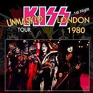 Kiss - Wembley Arena, London UK September 8th 1980 CD - Night one