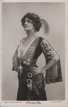 Lily Elsie she was so pretty