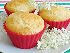 Bodzás-citromos muffin