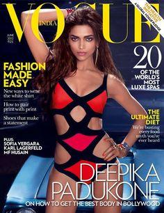 Rod Anker, Director of Monsoon Salon and Vogue Colorist of the Year creates a sexy look on Deepika Padukone #Flashback #Vogue #Fashion #DeepikaPadukone #Bollywood by #MonsoonSalon