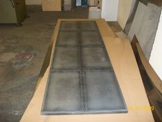 16 - 8 Place Distressed Zinc Display Table Top | Flickr - Photo Sharing!
