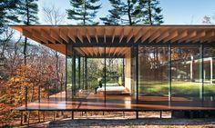 Kengo Kuma & Associates_Erweiterung eines Wohnhauses in New Canaan/Connecticut,