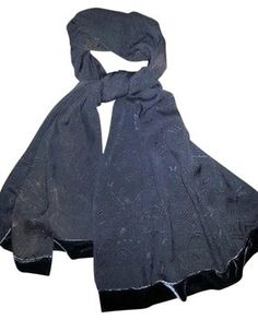 Giorgio Armani Silk Brocade Shawl with Velvet Trim. Get the lowest price on Giorgio Armani Silk Brocade Shawl with Velvet Trim and other fabulous designer clothing and accessories! Shop Tradesy now