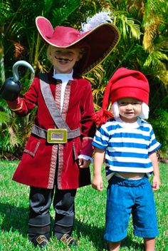 Mr.  Smee Costume for Toddlers. Measurments needed by CostumeKids