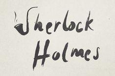 Minimalist Illustrations Of Famous Names