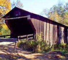 Cromer's Mill Covered Bridge, Carnesville, Georgia