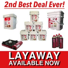 Our 2nd Best Deal Ever - Six Month Food Supply Bundle