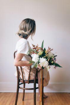 gillianstevens: Rogue Florist Gillian Stevens   among the pines