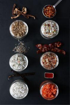 6 Flavored Salt Recipes