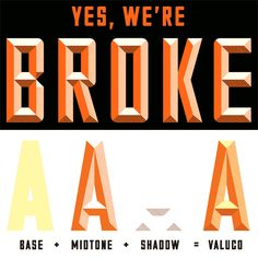 "Valuco Font - The classic font from the ""Sorry, We're Closed"" sign! Easily create beveled type with these three fonts."