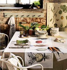 Láminas de botánica Vintage en tus paredes | Decorar tu casa es facilisimo.com