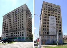Detroit was once a boom town accounting for one of the largest collections of architecturally inspired buildings in America – impressive structures that still stand today, albeit gutted skeletons of their former selves.