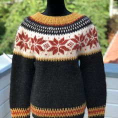 Excited to share this item from my #etsy shop: STJØRNU sweater pattern for knitters - English and Norwegian   #knitting #knittingpattern #pattern #norwegian #handmade #nordic #handknit