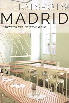 Looking for hidden gems and special places? How about a bar with an actual beach in the basement! These are the coolest hotspots in the city of Madrid..