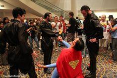 Ursa, General Zod, Superman, and Non - Dragon*Con 2011 Kneel before Zod!