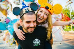 Disneyland engagement photos-- my brother and sister in law!