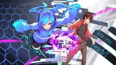 Mekakucity Actors Hd Wallpaper Wallpaper
