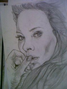 #art #female portrait