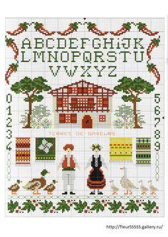 Gallery.ru / Photo # 43 - 91 - Fleur55555 ACORN PLUS OAK LEAF BORDER. ( i THINK!)