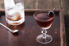 Rob Roy - Scotch and sweet vermouth