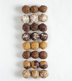 8perfect Energy Bites Recipes all in one post! The PB&J is my favorite!