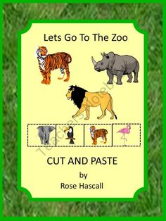 Let's Go To The Zoo Pre-K,K and Special Education from smalltowngiggles on TeachersNotebook.com (17 pages) 4.00