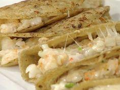 Recetas | Tacos de camarón gobernador | Utilisima.com// hay que hacerlos @Pamela Culligan Culligan Garcia