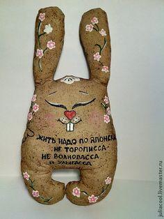 Ароматизированные куклы ручной работы. Ярмарка Мастеров - ручная работа кофейный заяса). Handmade.