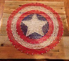 Custom made string art Names logos and symbols by Heartstrings7