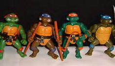 Original Turtles 80's toys