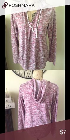 Lightweight hoodie Thin lightweight hoodie, xl junior. This is more purple than the picture shows. Tops Sweatshirts & Hoodies