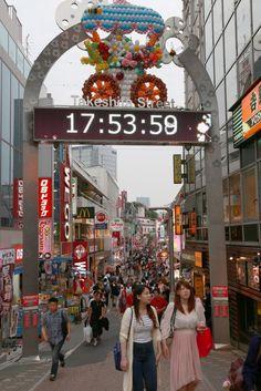 Takeshita Dori Street Gate of Harajuku   http://tiptoeingworld.com