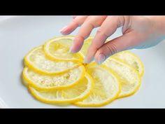 Ich schneide eine Zitrone und lege sie in mein Schlafzimmer - es hat mein Leben verändert - YouTube