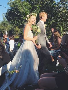 Yaaaay! Aspyn and Parker got married yesterday, I am so so happy for them!