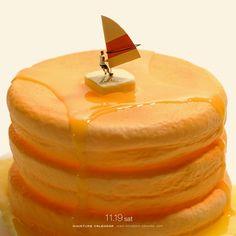 2016.11.19(土)/パンケーキ? ホットケーキ? ヨットケーキ!