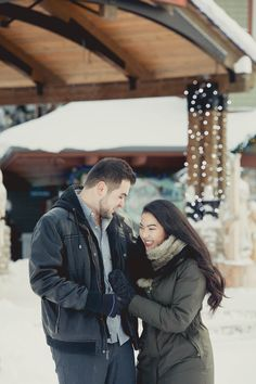 Elena & Antonio's Blue Mountain Proposal | Collingwood Proposal | Winter Proposal Photography | Snow | Ski | Ski Resort | Blue Mountain Village | Toronto Photographer | Romantic | Bride to Be | Groom to Be | Hubby to Be | Christmas Engagement