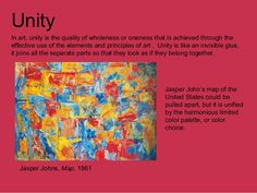 Unity In Art, Jasper Johns, Elements And Principles, Map, Search, Google, Searching, Location Map, Peta
