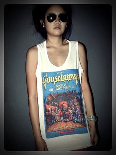 Goosebumps Night of the Living Dummy Tank Top by RockTheWayYouLive, $15.99