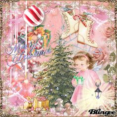 Little Snow Angel my Art Jane's Doll Closet Vintage Pink Christmas, Merry Christmas To All, Vintage Winter, Beautiful Christmas, Winter Christmas, Doll Closet, Snow Angels, Christmas Paintings, Old Postcards